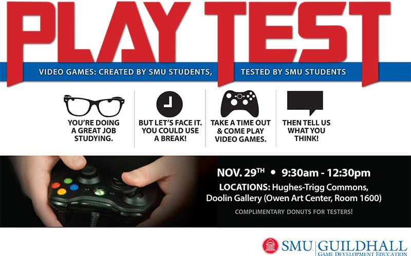 SMU's Highly-Ranked Guildhall Wants You to Play Student-Designed Video Games