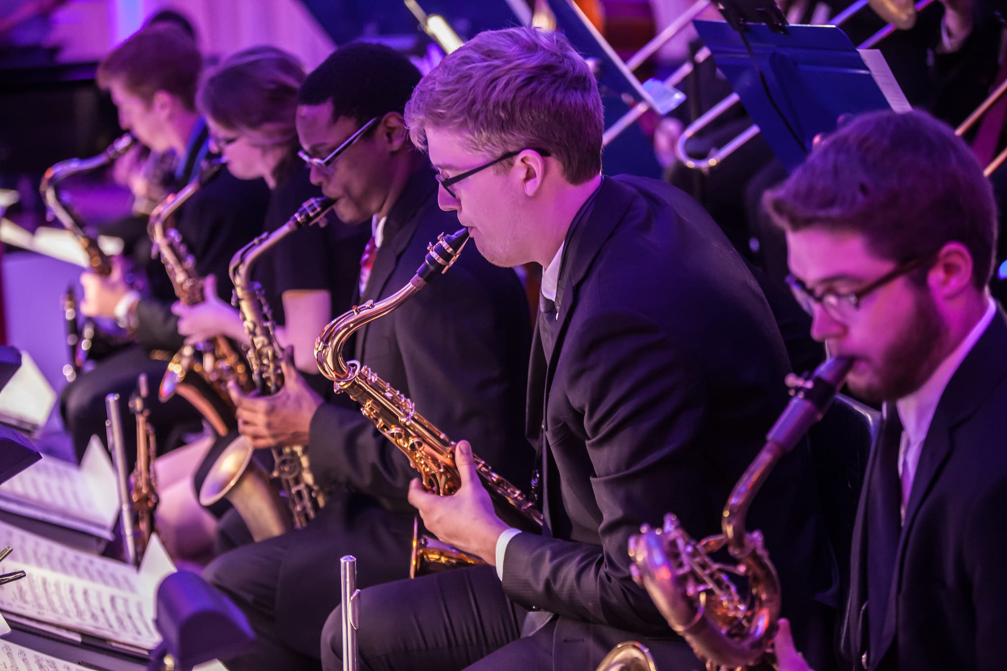 The SMU Meadows Jazz Orchestra presented its second annual swing dance concert onOctober 29.