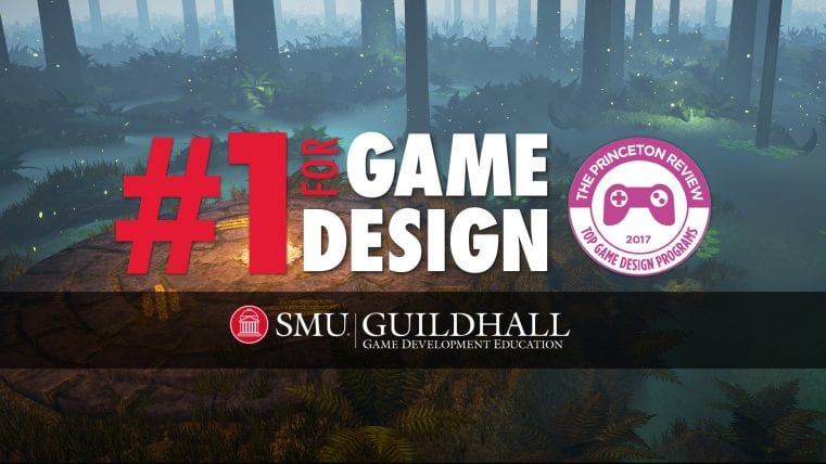 SMU Guildhall Ranked Number One in World for Game Design