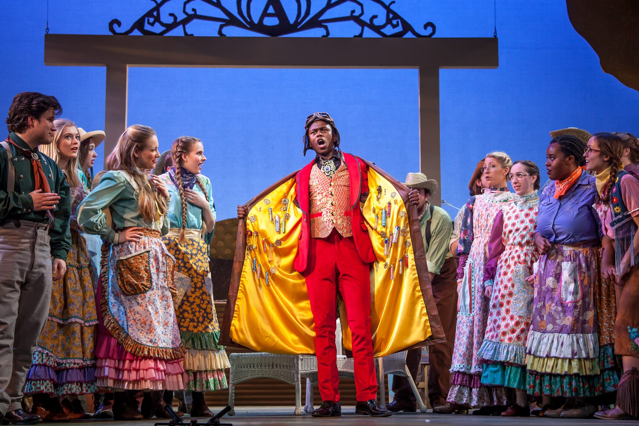 "Meadows Opera Theatre performed ""Elixir of Love,"" directed by Hank Hammett. (Photo by Kim Leeson)"