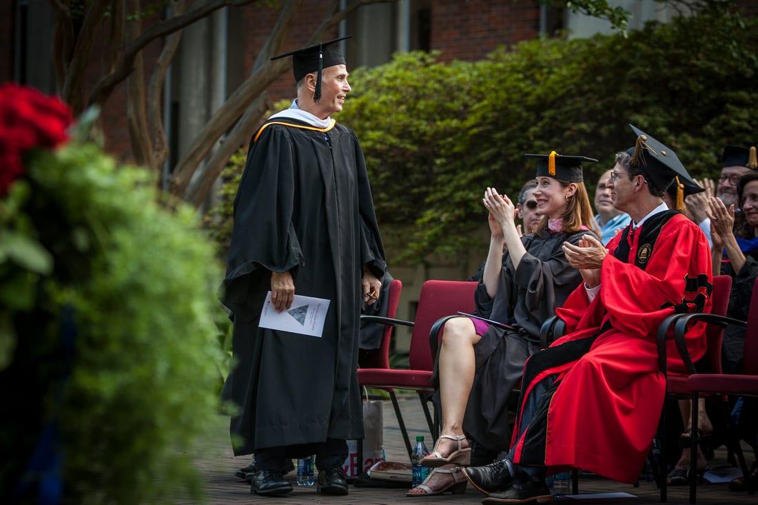 Professor of Dance Danny Buraczeski was given the Distinguished Professor of the Year award.