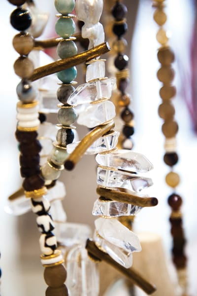 Jewelry made by women in the Akola Project ranges from hand-rolled paper beads to jade and pearls, and is sold online, in boutiques and at Neiman Marcus.