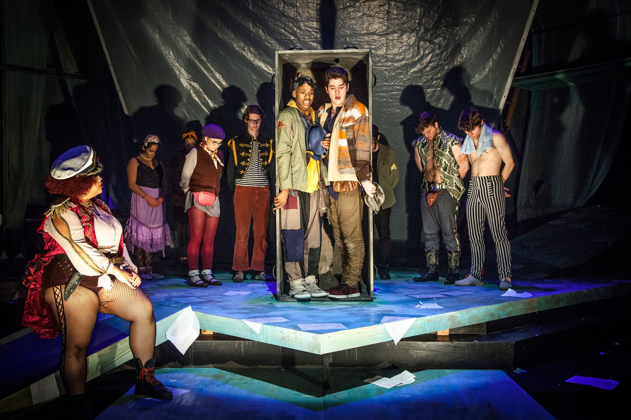"""10 Can't Miss Photos from SMU Theatre's Production of """"Rosencrantz and Guildenstern Are Dead"""" by Tom Stoppard"""