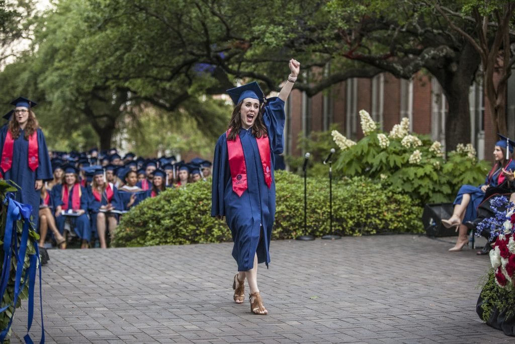 16 Photos from the 2018 SMU Meadows Graduation Ceremonies Guaranteed to Make You Smile