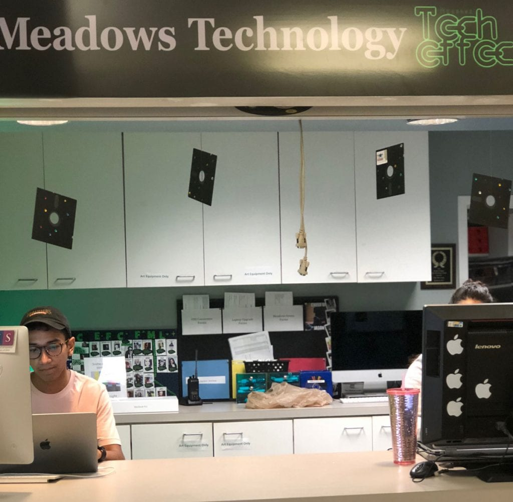SMU Meadows tech effect