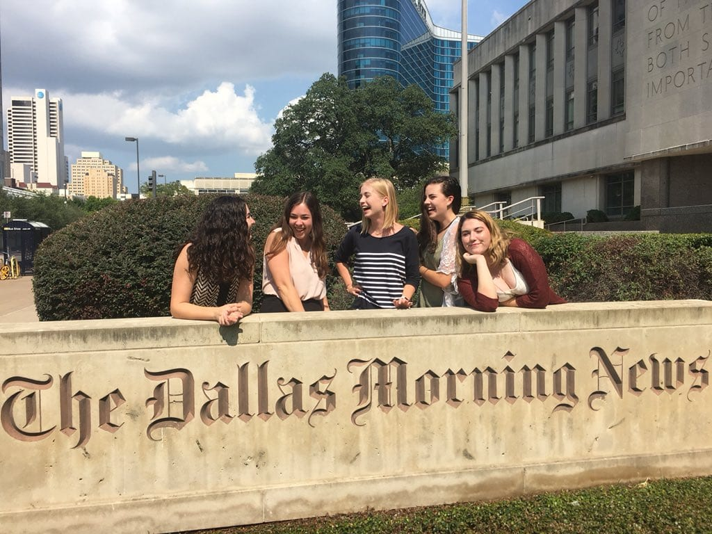 Dallas Morning News internship