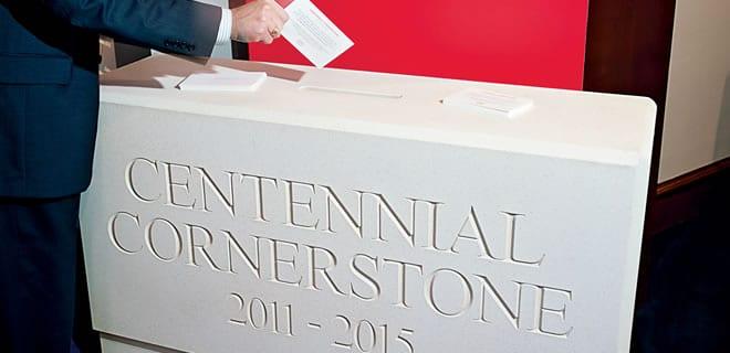 Centennial Cornerstone