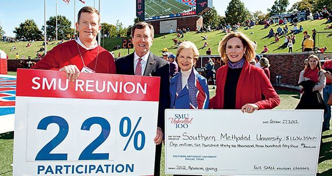 Reunions Spur Campaign Participation