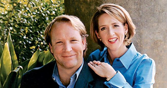 John B. Kleinheinz and Marsha Kleinheinz '83
