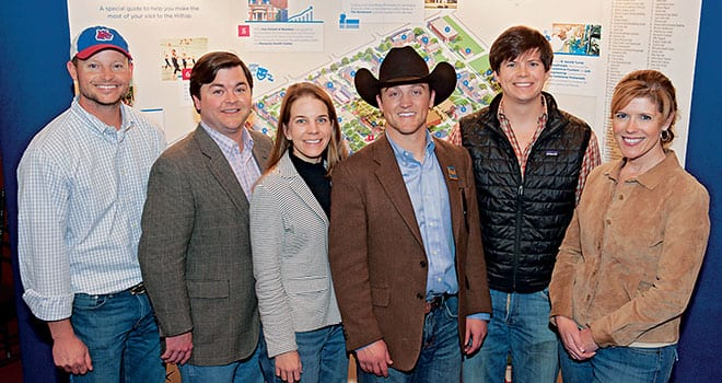 Some of the SMU alumni, parents and friends in Fort Worth who attended a Second Century Campaign celebration January 25.