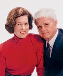 Jean Smith and Dr. Bob Smith '44, '46