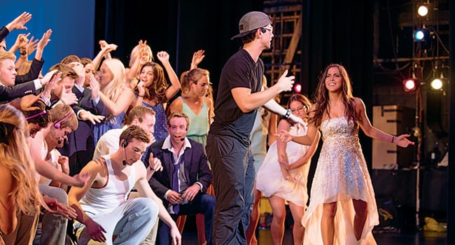 Sing Song, a musical theatre student competition held on April 17, celebrated the 100th anniversary of SMU's first students.