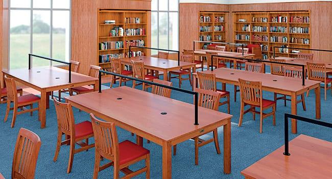 A conceptual rendering of the Fondren Centennial Reading Room