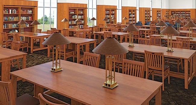 Fondren Centennial Reading Room, Conceptual Rendering