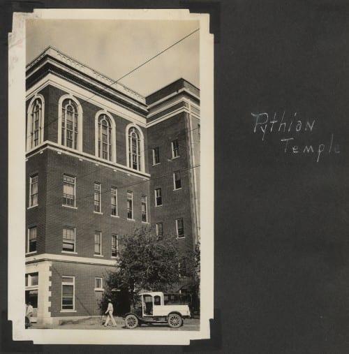 Pythian Temple, 1932