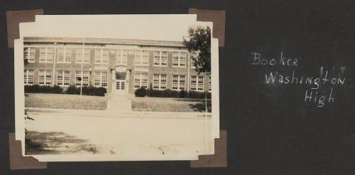 Booker Washington High School, 1932