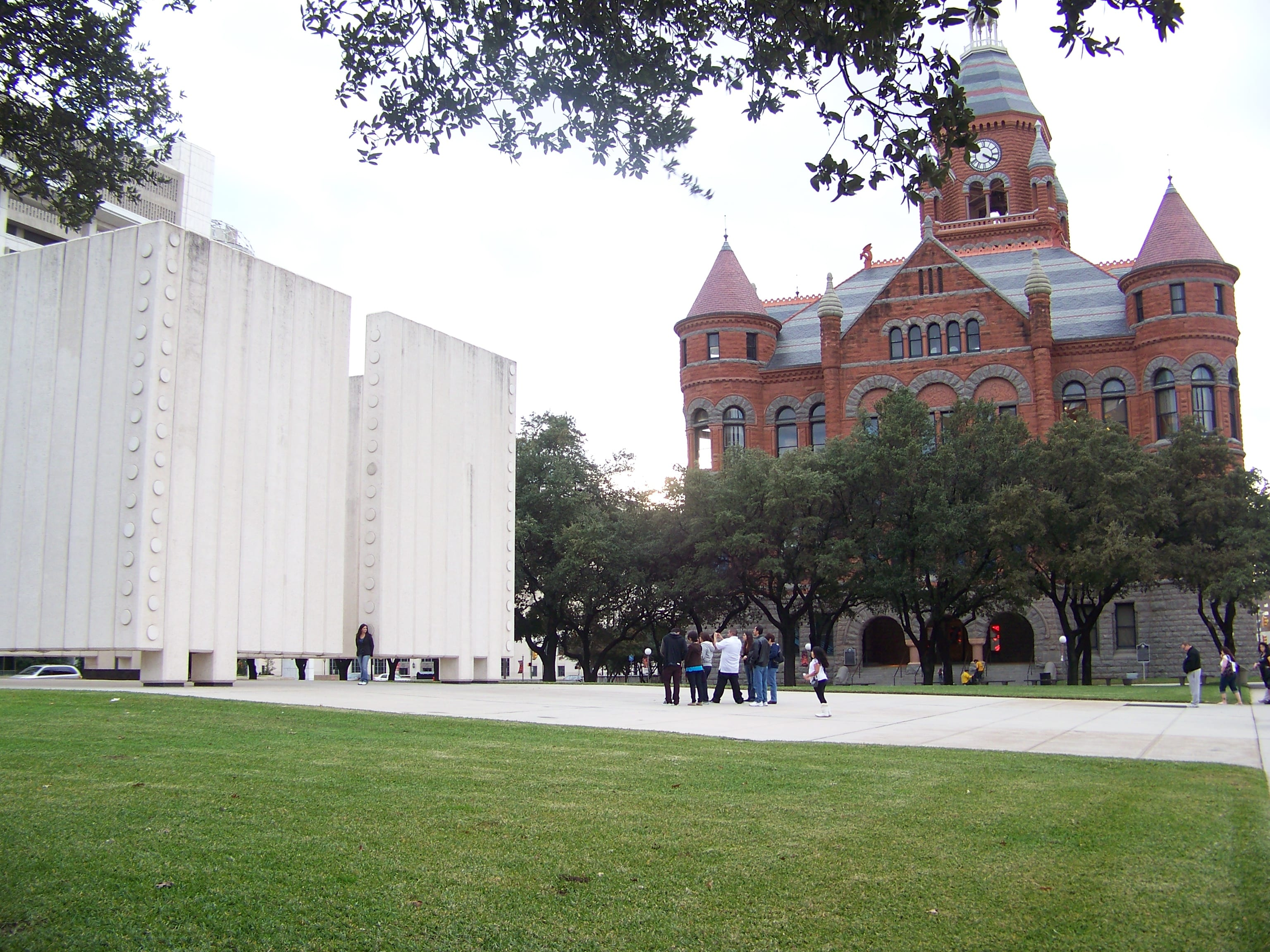 Old Red Museum and Kennedy Cenotaph, Downtown Dallas.