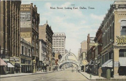 Commemorative Elks Arch postcard