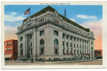 Dallas City Hall ca. 1910
