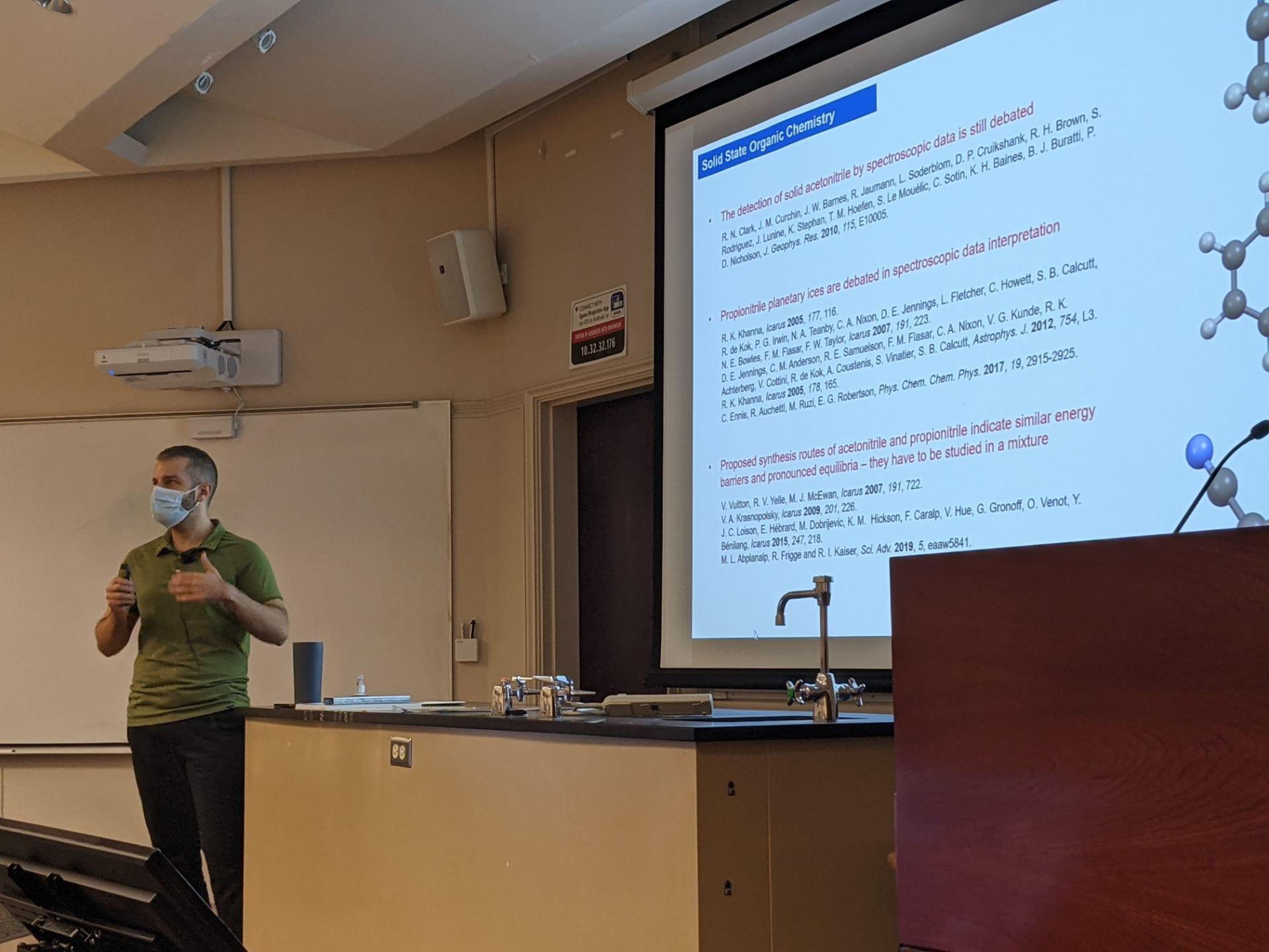 Physics Department Friday Newsletter for September 3, 2021
