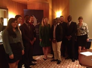Chelsea Clinton with students at CGI America