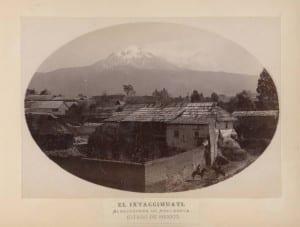 Briquet_Ixtaccihuatl_Alrededores_Amecameca