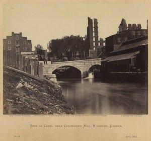 Gardner_View_Canal_Crenshaws_Mill_Richmond_April_1864_No_92