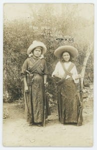 Two Women Soldiers, Matamoros, Mex, ca. 1915