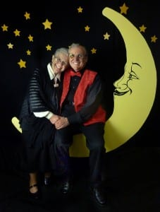 Jack and Beverly Wilgus with Paper Moon Set