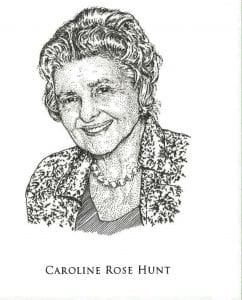 Caroline Rose Hunt