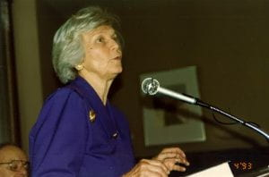 Jan Sanders, April 1993