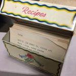 Mamie Hudson Gilliam's recipe tin