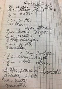 Ida Morgan Recipes, A2005.0008c