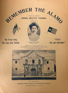 Remember the Alamo music