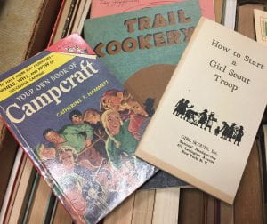 Girl Scout Handbooks and Training Guides