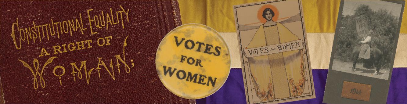 Women's suffrage ephemera