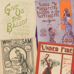 Suffrage sheet music