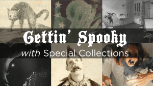Spooky in Special Collections banner