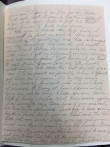 January 5th, 1893, Frankie Smith letter page 2