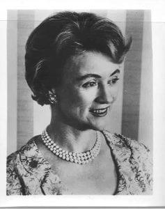 Marietta Tree, former U.S. ambassador to the U.N.