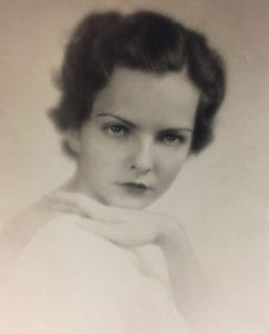 Margaret Tallichet, SMU Annual Beauty photograph, 1937