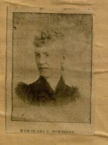 Image of Clara Virginia Townsend, undated