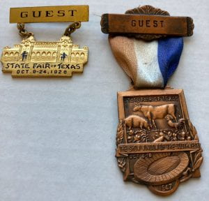 State Fair of Texas guest pins