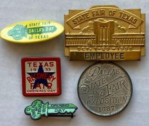 State Fair of Texas pins