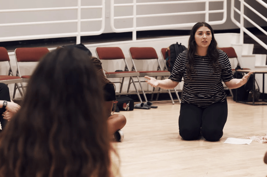 Teaching confidence and communication through theater