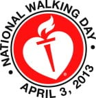 National Walking Day Logo