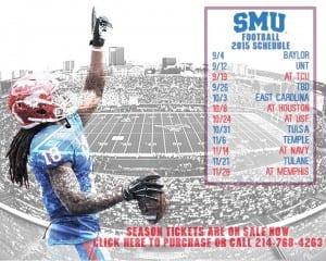 SMU Football Schedule