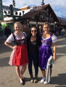 I'm lucky enough to be studying abroad with some friends from SMU; this is us at Oktoberfest!