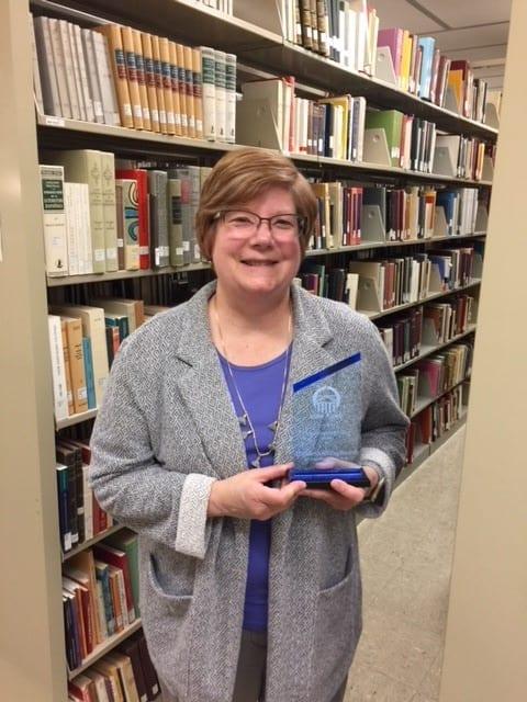 CUL Interim Dean Wins Outstanding Administrator Award