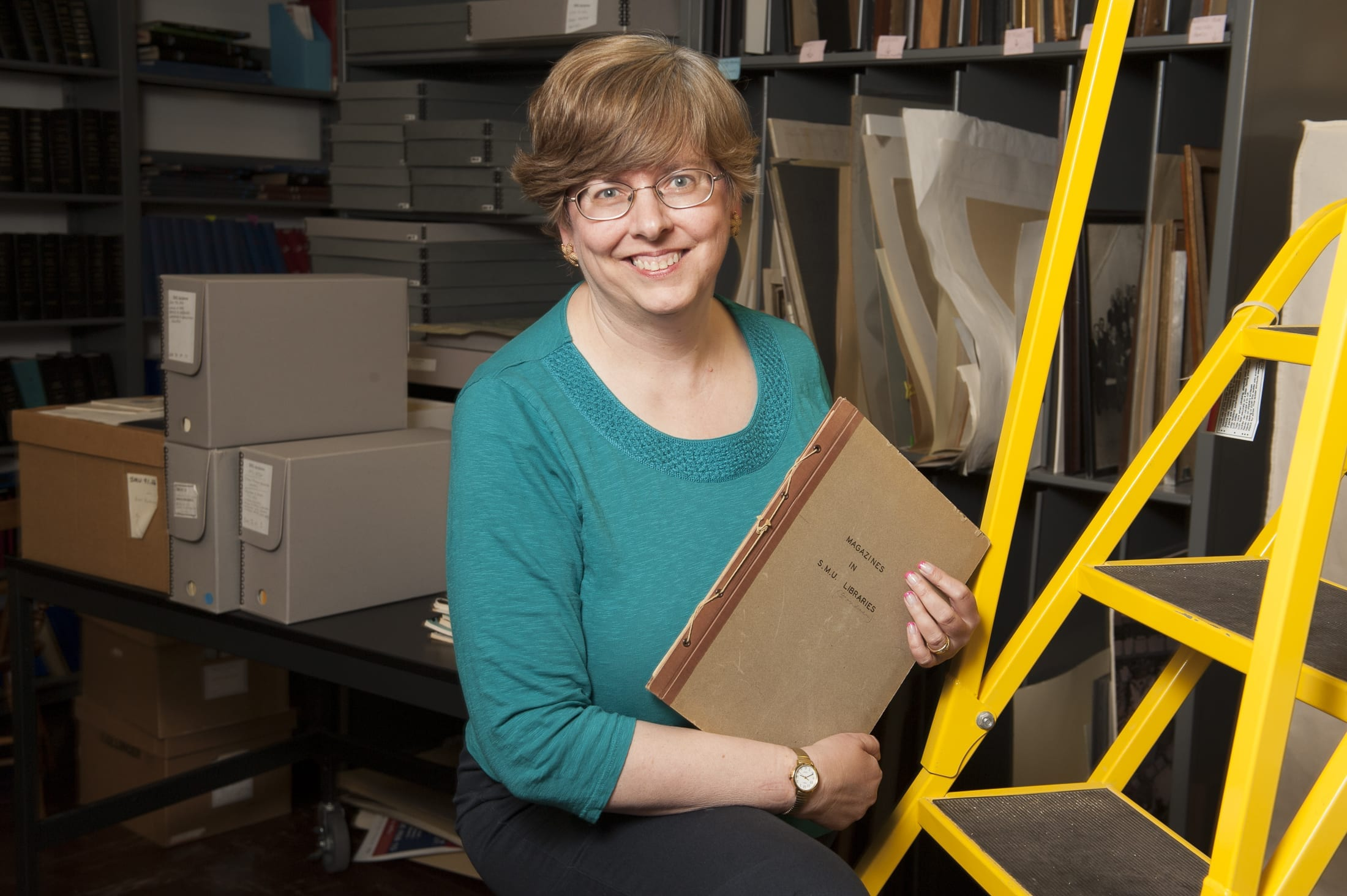 Why Archives? SMU Archivist, Joan Gosnell Explains